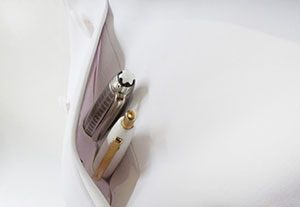 CoHac.白衣のペンポケット