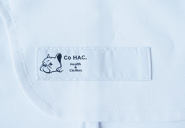 CoHAC白衣のネームタグ